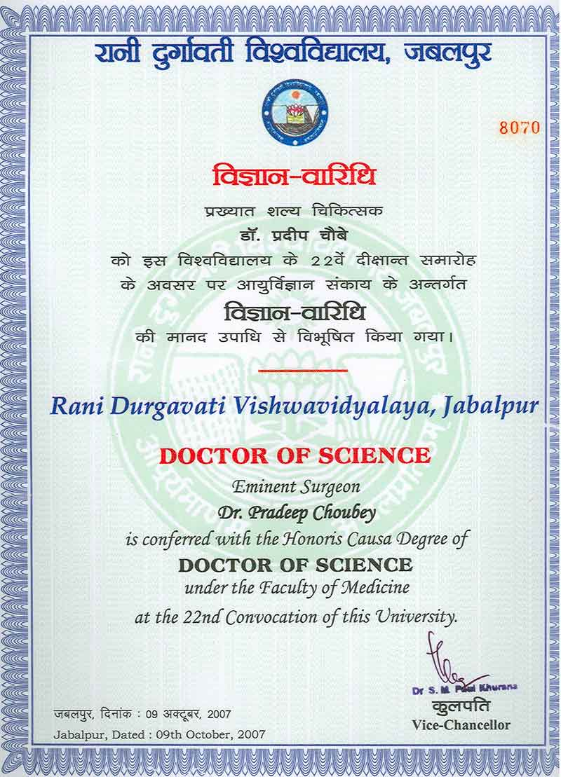 Doctor of Science
