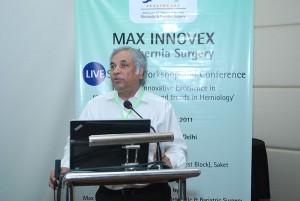 Dr. Pradeep Chowbey at MAX INNOVEX