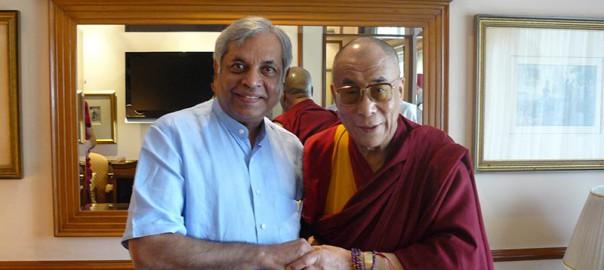 Dr. Pradeep Chowbey with Dalai Lama