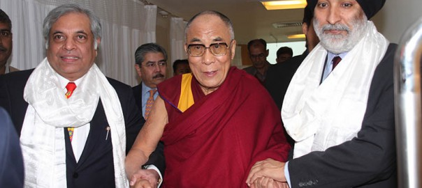 Dr. Chowbey and Mr. Analjit Singh Dalai Lama