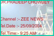 Dr Chowbey at Zee News