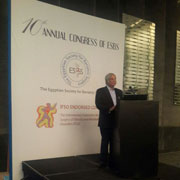 Dr Chowbey at Annual Congress of ESBS
