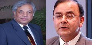 Dr Pradeep Chowbey with Arun Jaitley