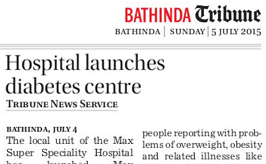 Press Coverage on Obesity Camp & MEDOC Launch1