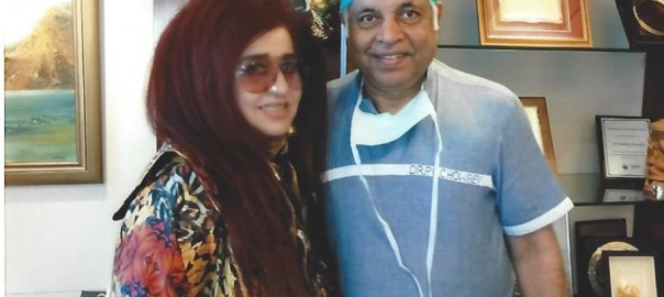 Dr Chowbey with Ms Shehnaz Hussain