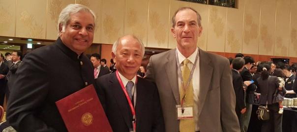 Dr. Pradeep Chowbey awarded with Membership of Japanese Society of Endoscopic Surgery in Osaka, Japan (2)