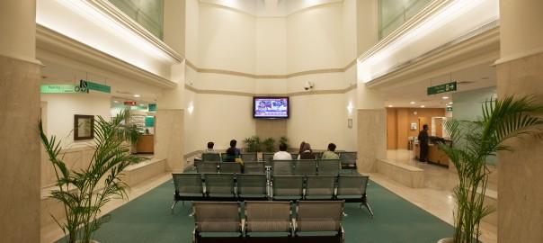 Saket Waiting Area