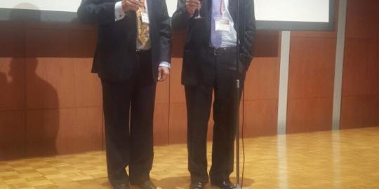 Founder President of APHS Dr Pradeep Chowbey invited as keynote speaker to APHS 2016 at Tokyo. Delivered Keynote lecture on 'Herniology- Evolution towards excellence'