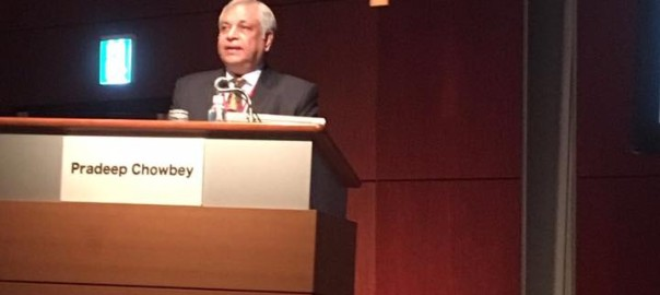 Founder President of APHS Dr Pradeep Chowbey invited as keynote speaker to APHS 2016 at Tokyo. Delivered Keynote lecture on 'Herniology- Evolution towards excellence'1