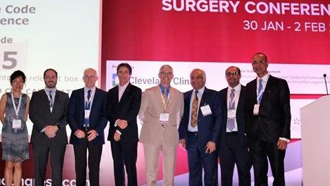 At the Arab health 2017