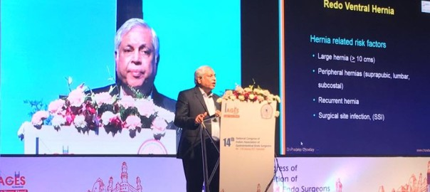 Dr Pradeep Chowbey invited as an esteemed faculty at annual conference of Indian association of gastrointestinal surgeons IAGES 2017 at Hyderabad 3