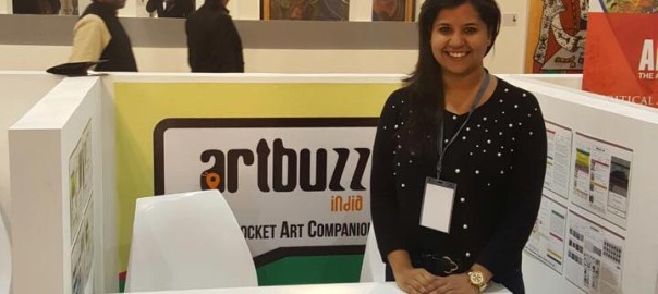 Wonderful time with family and friends at India Art Fair 2017 1