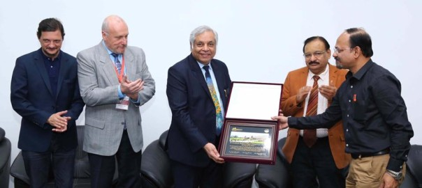 Dr Chowbey has been awarded the Honorary Professorship of Sri Aurobindo Medical College & Postgraduate Institute, Indore. 9