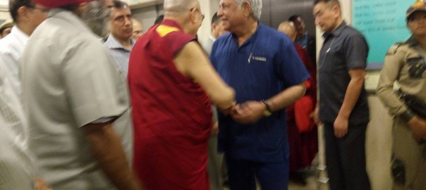 Wonderful moments spent with His Holiness Dalai Lama today during his visit at Max Hospital.1