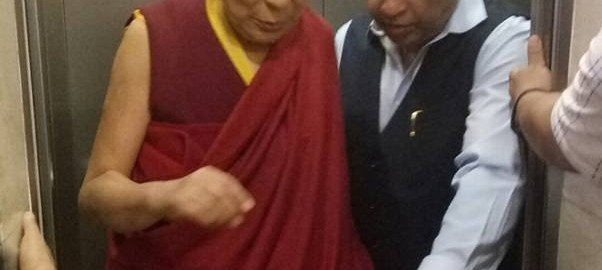 Blessed morning with His Holiness Dalai Lama1