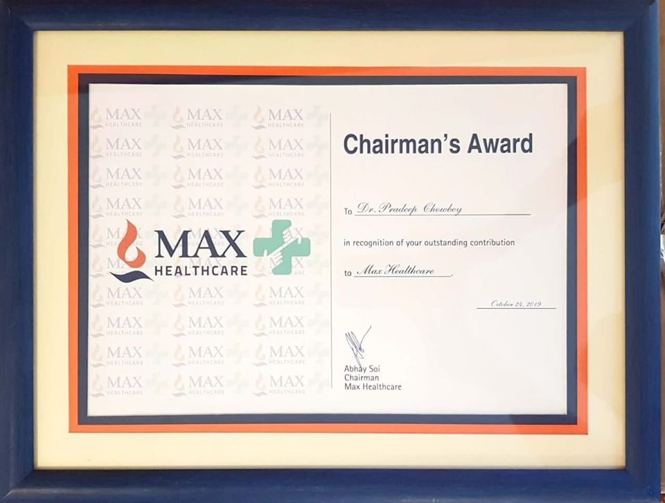 Chairman's Award – Max Healthcare