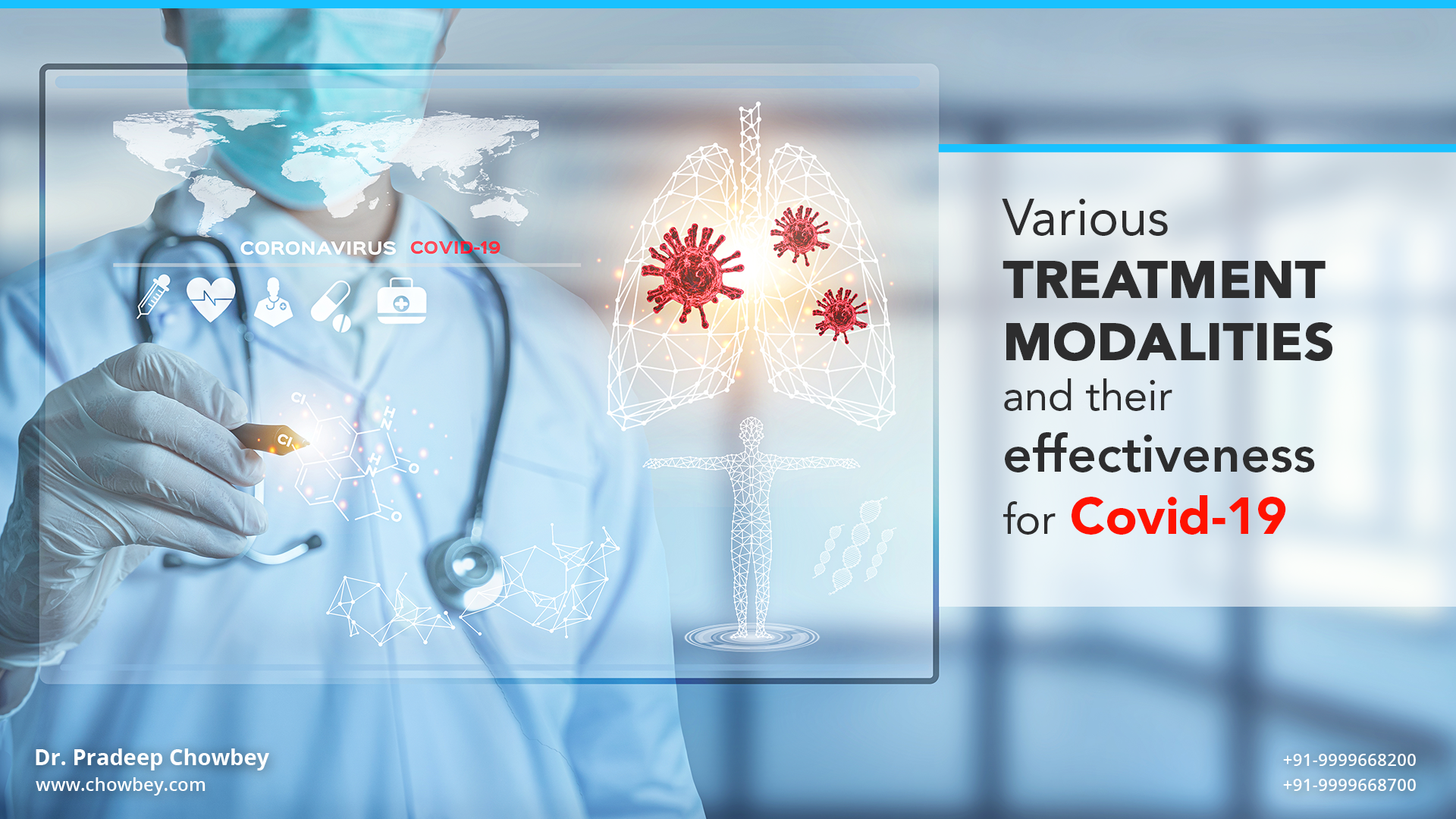 Various Treatment  modalities and their effectiveness for Covid-19