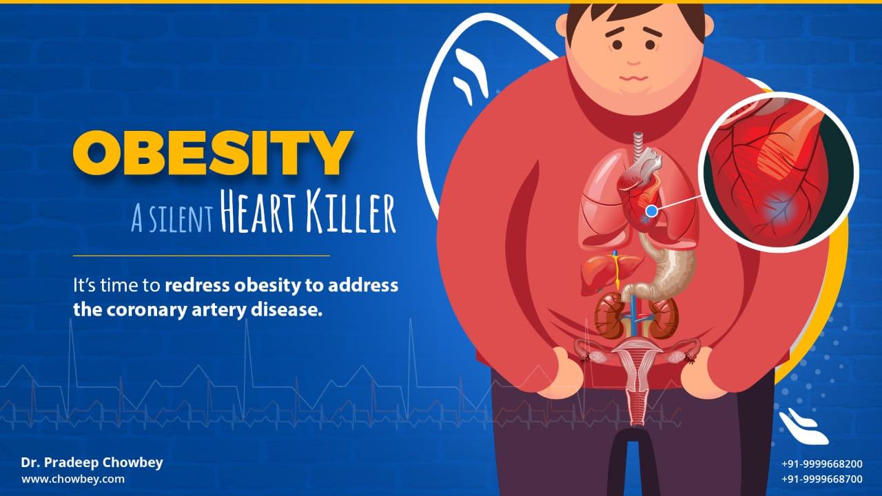 Obesity- A silent Heart Killer